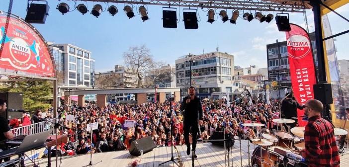 Άνω-Κάτω: Ξεσήκωσαν το κοινό στο Καρναβάλι της Ξάνθης (pics)